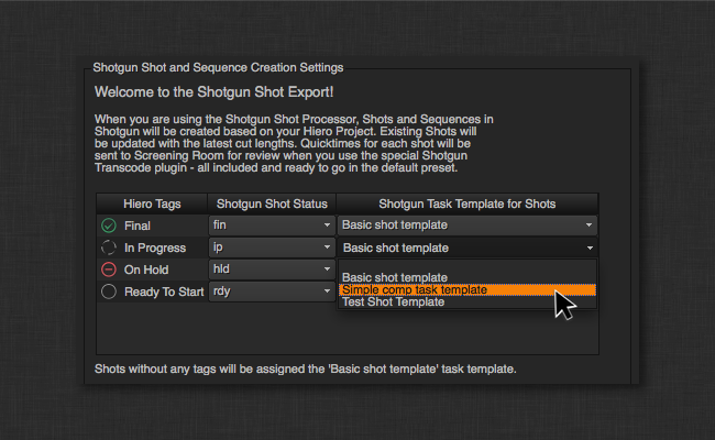 Shotgun UI