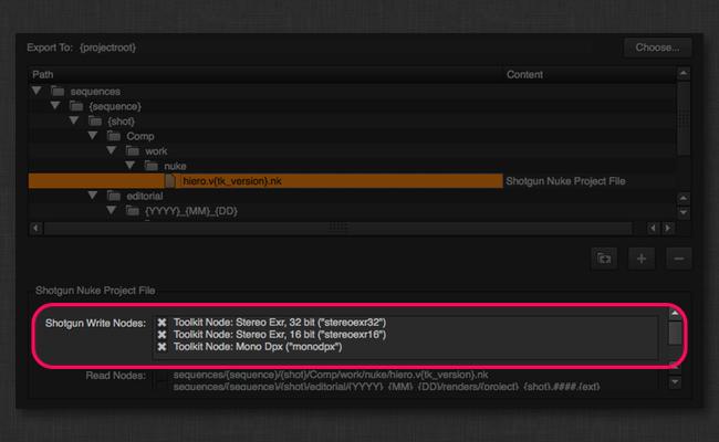 Nuke Project File Settings