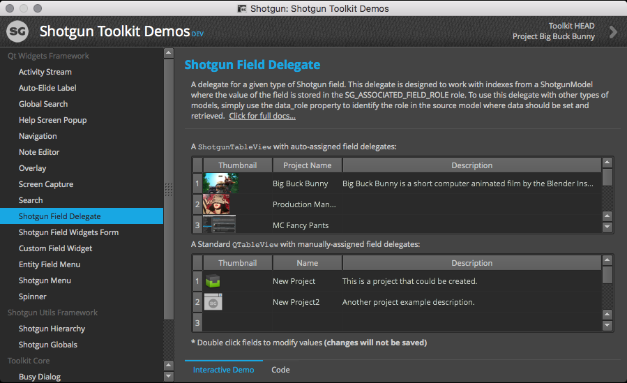 Example Demo