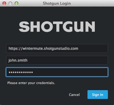 Shotgun Toolkit Core API – Shotgun Support