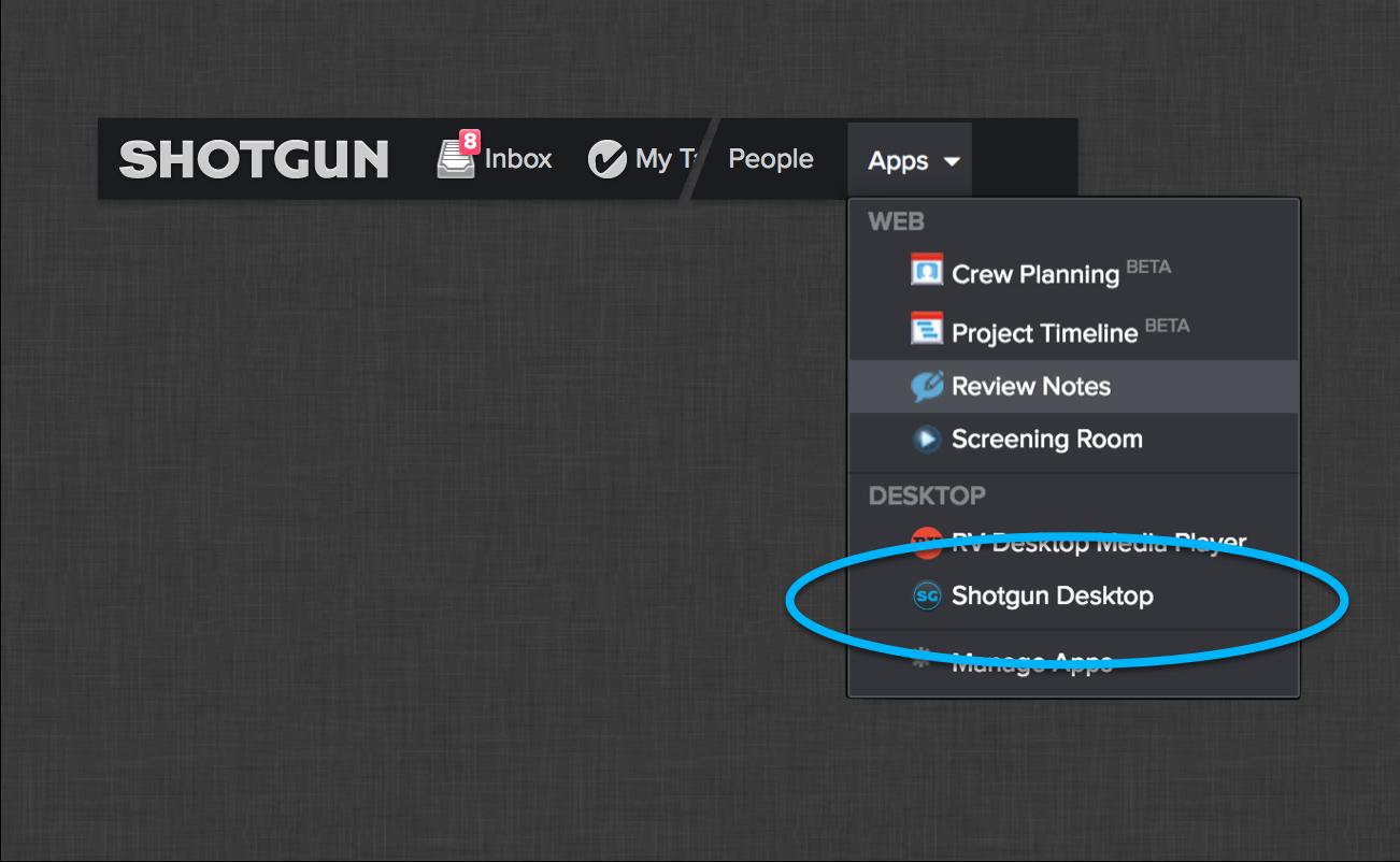 Integrations user guide – Shotgun Support