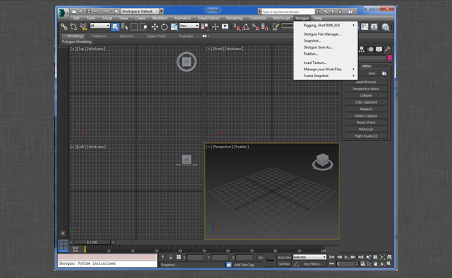 3ds Max Plus – Shotgun Support